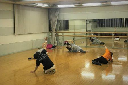 谷春華ジャズダンス・クラス スタート